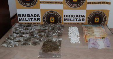 Mulher que cumpria prisão domiciliar é presa por tráfico de drogas em Nova Petrópolis