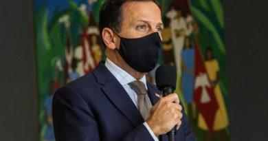Governador João Doria registra queixa por ameaça de morte em São Paulo